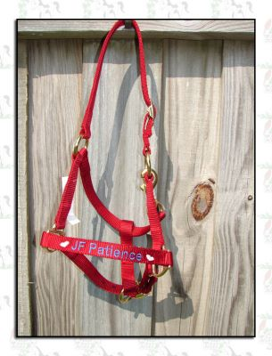 Embroidered Halters now available!