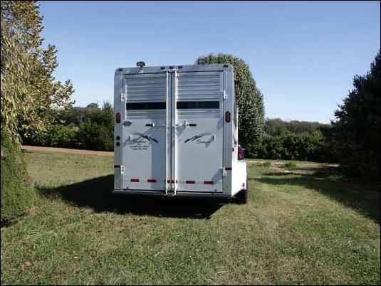 Half Ass Acres Miniature Donkey Farm's new trailer!